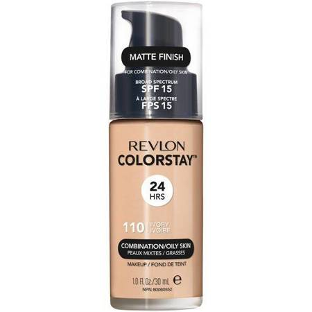 REVLON ColorStay With Pump makeup combination/oily skin 110 Ivory 30ml