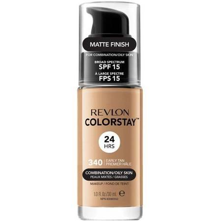 REVLON ColorStay With Pump makeup combination/oily skin 340 Early Tan 30ml