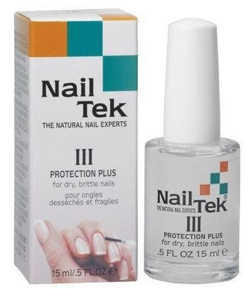 Nail Tek Formuła III  Protection Plus - 15 ml