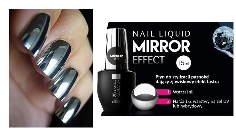 Efekt Lustra Mirror Effect 15 Ml Jedyny Taki Unikalny Efekt Na Plytce Paznokcie Odzywki Utrwalacze Do Paznokci Paznokcie Ozdoby Do Paznokci Nocanka Pl