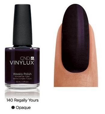 CND VINYLUX Lakier 7-dniowy Regally Yours Nr 140