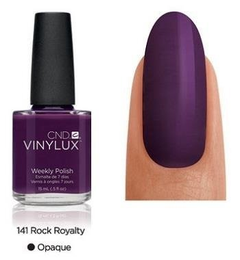 CND VINYLUX Lakier 7-dniowy Rock Royalty Nr 141