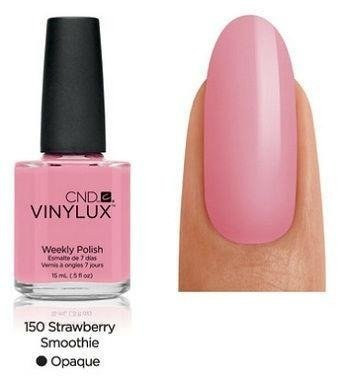 CND VINYLUX Lakier 7-dniowy Strawberry Smoothie Nr 150
