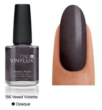 CND VINYLUX Lakier 7-dniowy Vexed Violette Nr 156