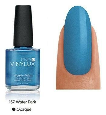 CND VINYLUX Lakier 7-dniowy Water Park Nr 157