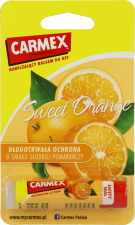 Carmex balsam do ust Sweet Orange