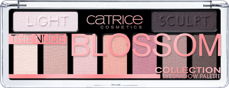 Catrice paletka cieni The Nude Blossom Collection Eyeshadow Palette 010 Blossom 'N Roses