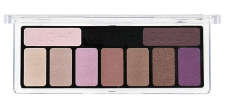 Catrice paletka cieni the the edgy lilc 010 Purple up your life