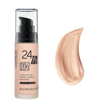 Catrice podkład 24h Made To Stay Make Up Nr 010 Nude Beige  30 ml
