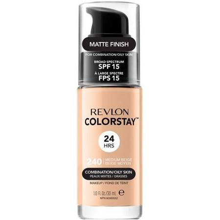 REVLON_ColorStay With Pump makeup combination/oily skin 240 Medium Beige 30ml