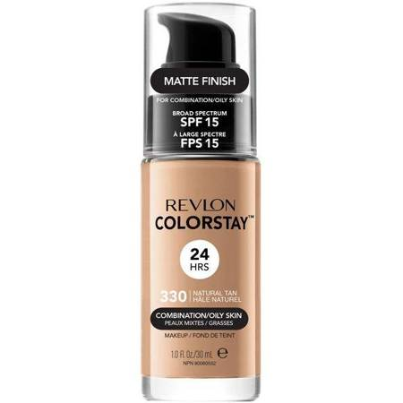 REVLON ColorStay With Pump makeup combination/oily skin 330 Natural Tan 30ml
