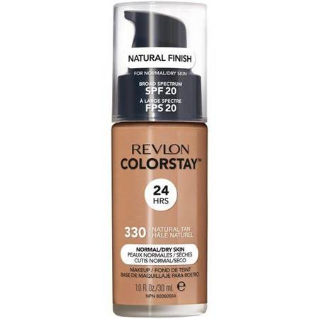REVLON_ColorStay With Pump makeup normal/dry skin 330 Natural Tan 30ml