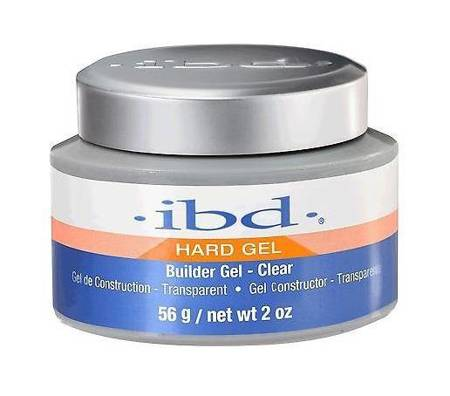 Hard Builder Gel UV żel budujący Clear 56g