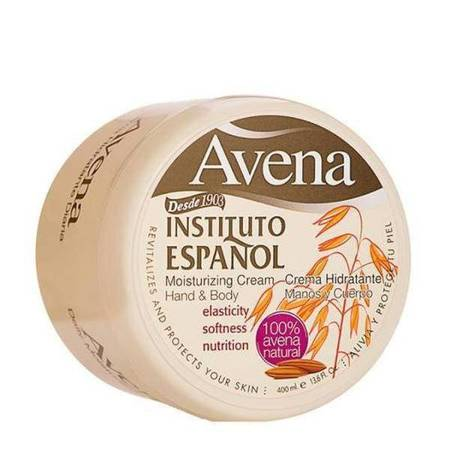 INSTITUTO ESPANOL Avena Moistrurizing Cream Hand & Body krem do ciała Owies 400ml