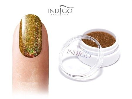 Indigo Efekt Holo Royal Gold