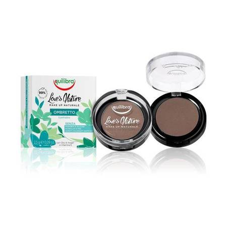 Love's Nature Eyeshadow cień do powiek 07 Dark Brown 2.5g