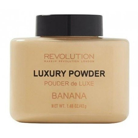 Makeup Revolution Luxury Banana Powder sypki puder utrwalający