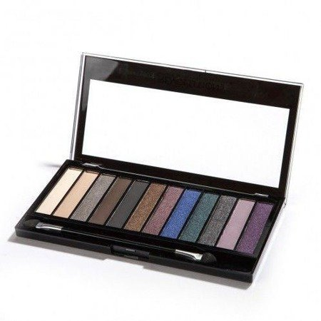 Makeup Revolution Redemption Palette Hot Smoked - Paleta cieni do powiek 12 odcieni
