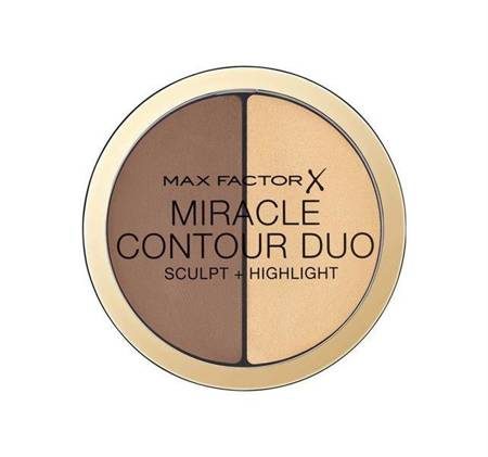 Miracle Contour Duo Sculpt & Highlight bronzer i rozświetlacz 11g