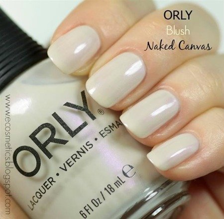 Orly Lakier Nr 20489 Naked Canvas