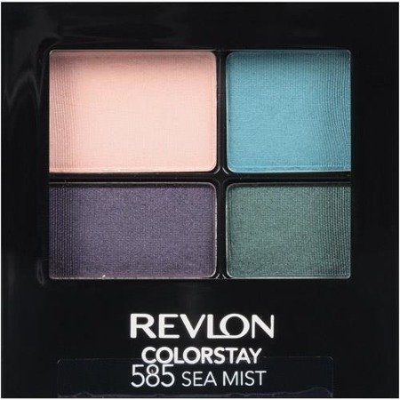 REVLON ColorStay 16 Hour Eye Shadow Quad poczwórne cienie do powiek 585 Sea Mist 4,8g