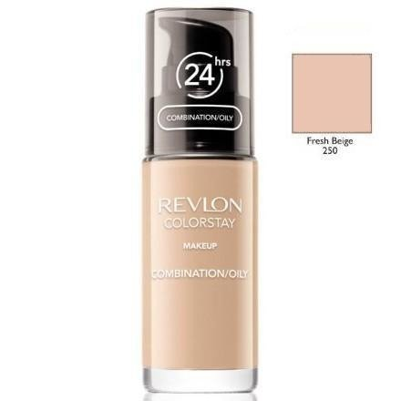 REVLON ColorStay With Pump makeup combination/oily skin 250 Fresh Beige 30ml