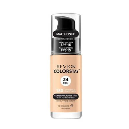REVLON_ColorStay With Pump makeup combination/oily skin 180 Sand Beige 30ml