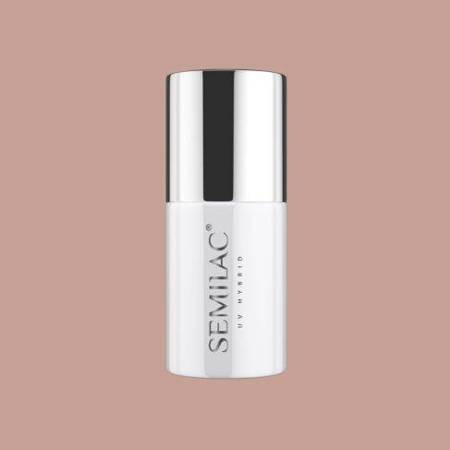 SEMILAC Lakier hybrydowy Business Line 202 Grey Brown 7ml