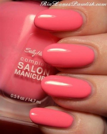 Sally Hansen Lakier Complete Salon Manicure 510 I Pink I Can