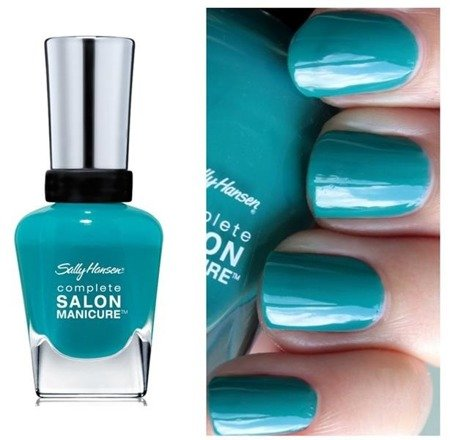 Sally Hansen Lakier Complete Salon Manicure New Wave Blue 813