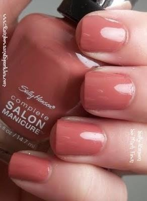 Sally Hansen Lakier Complete Salon Manicure So Much Fawn 260