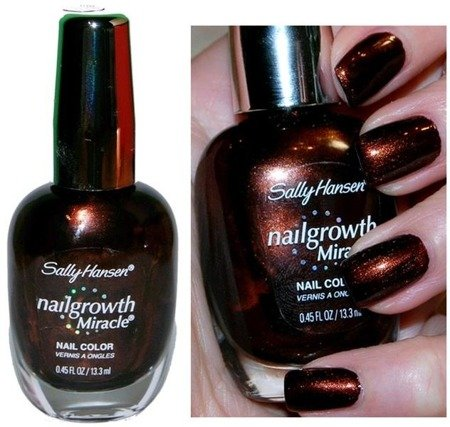Sally Hansen Lakier Nailgrowth Miracle Forbidden Fudge 380