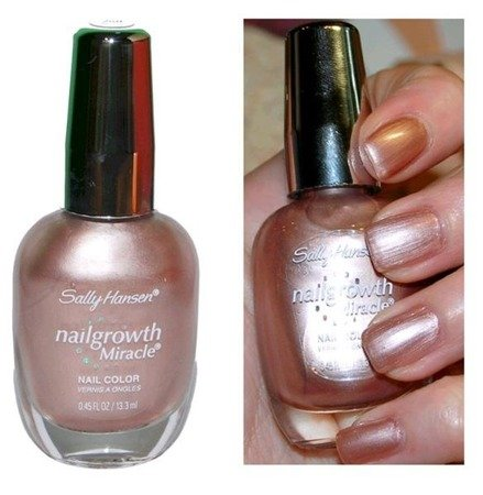 Sally Hansen Lakier Nailgrowth Miracle Mighty Mauve 250