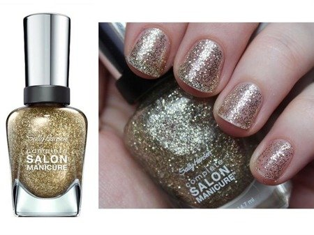 Sally Hansen  Lakier Salon Complete Golden Rule Nr 120