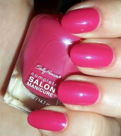 Sally Hansen Lakier Salon Complete Manicure Back to the Fucshia