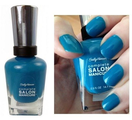 Sally Hansen Lakier Salon Complete Manicure Please Sea Me nr 530