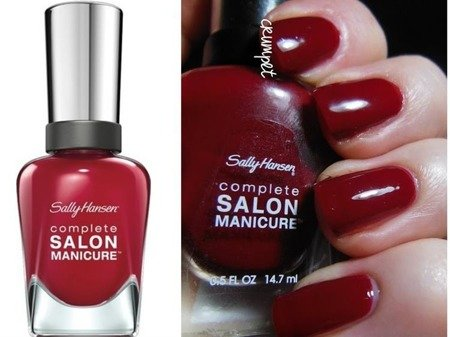 Sally Hansen Lakier Salon Complete Manicure Red Handed
