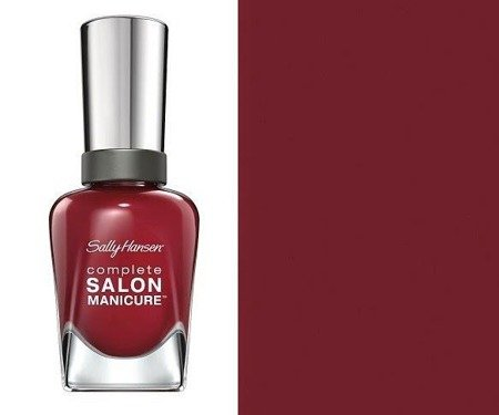 Sally Hansen Lakier Salon Complete Manicure Rupee Red Nr 840