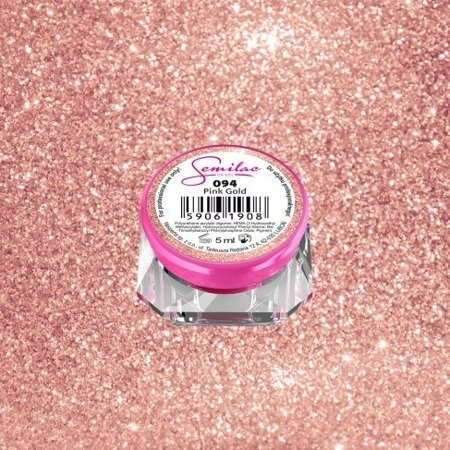 Semilac Żel UV Gel Color 094 Pink Gold 5ml