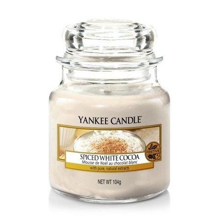 Yankee Candle Słoik Mały Spiced with Cocoa 104g