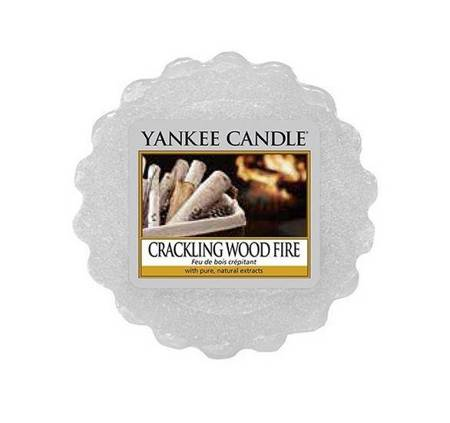 YANKEE CANDLE Wax wosk Crackling Wood Fire 22g