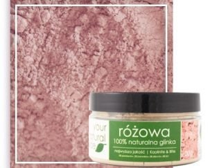 Your Natural Side Glinka Różowa Kaolin & Illite 100g